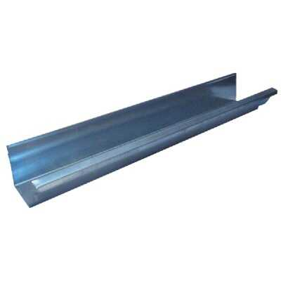 NorWesco 4 In. x 10 Ft. K-Style Galvanized Gutter