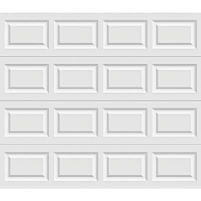 Holmes Gold Series 9 Ft. W x 7 Ft. H White Insulated Steel Garage Door w/EZ-Set Torsion Spring