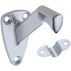 National Satin Chrome Zinc Die-Cast With Steel Strap Handrail Bracket Image 1