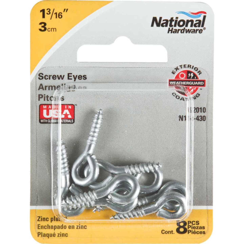 National #210 Zinc Small Screw Eye (8 Ct.) Image 2