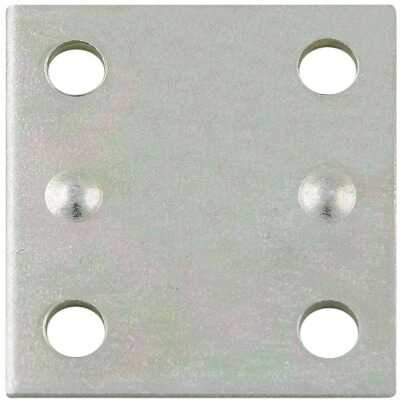 National Catalog V119 1-1/2 In. x 1-3/8 In. Mending Plate (4-Count)