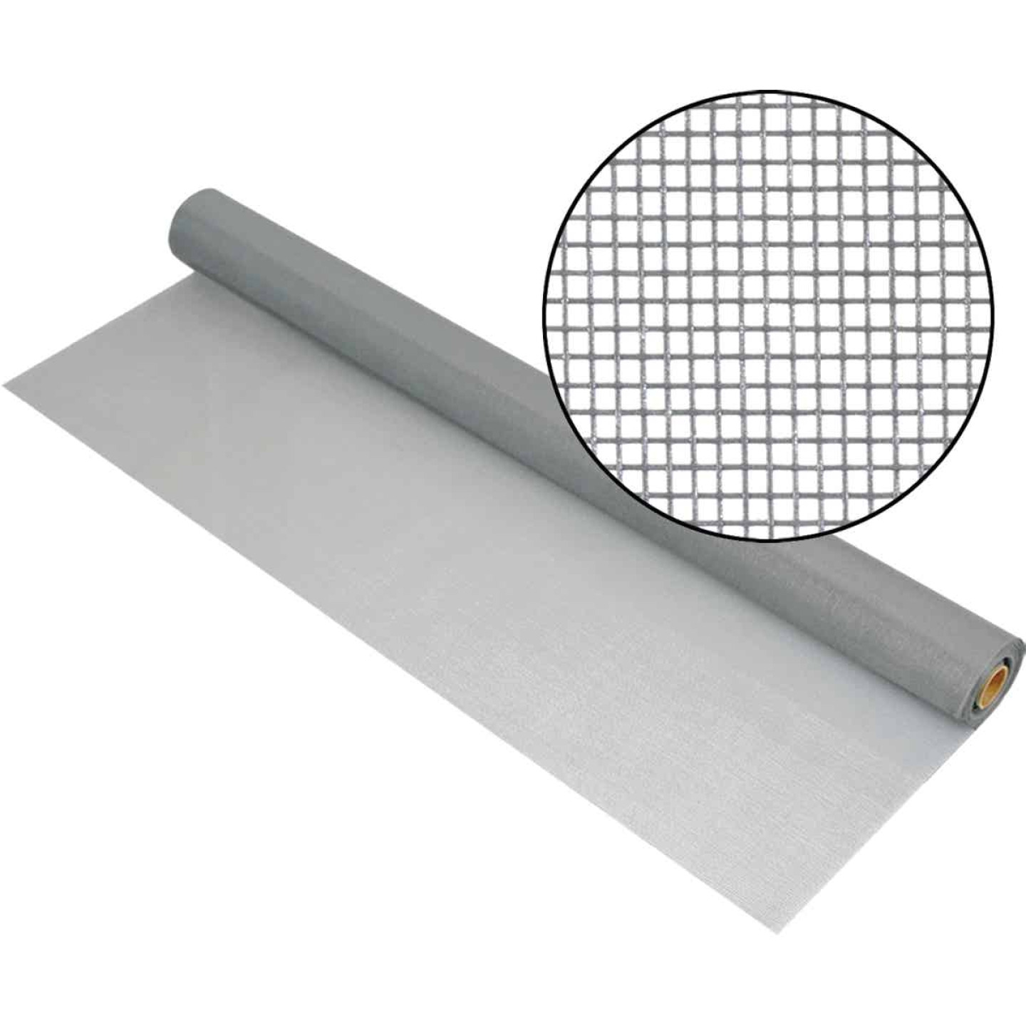 Phifer 60 In. x 100 Ft. Gray Fiberglass Mesh Screen Cloth Image 1
