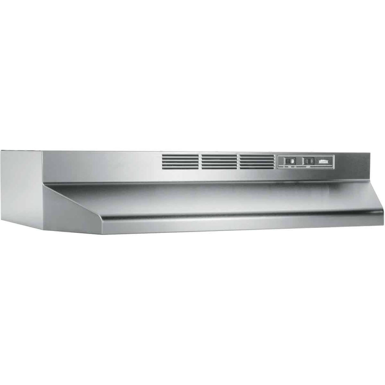 Broan-Nutone 41000 Series 36 In. Non-Ducted Stainless Steel Range Hood Image 1