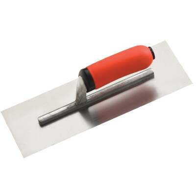 Do it Best 4 In. x 12 In. Finishing Trowel with Ergo Handle